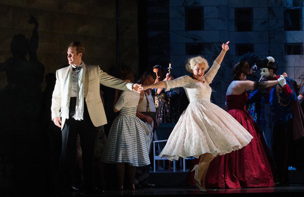 Glyndebourne Touring Opera present Don Giovanni by Wolfgang Amadeus Mozart<br /> <br /> <br /> Don Giovanni - Duncan Rock<br /> Zerlina  - Louise Alder<br /> <br /> <br /> Conductor Pablo Gonz&aacute;lez (15, 22, 25, 27, 30 Oct; 4,8, 11, 15, 18, 22, 25 Nov)<br /> Ben Gernon (29 Nov; 2, 6, 9 Dec)<br /> Director Jonathan Kent<br /> Revival Director Lloyd Wood<br /> Designer Paul Brown<br /> Lighting Designer Mark Henderson<br /> <br /> The Glyndebourne Tour Orchestra<br /> The Glyndebourne Chorus<br /> <br /> Don Giovanni Duncan Rock<br /> Donna Anna Ana Maria Labin<br /> Don Ottavio Anthony Gregory<br /> Donna Elvira Magdalena Molendowska<br /> Leporello Brandon Cedel<br /> Il Commendatore Andrii Goniukov<br /> Zerlina Louise Alder<br /> Masetto Božidar Smiljanić