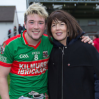 Kealan Sexton with his mother, Sinead