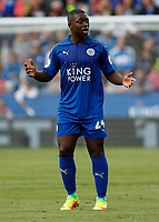 Football - 2016/2017 Premier League - Leicester Ciity V Arsenal. <br /> <br /> Nampalys Mendy of Leicester City at The King Power Stadium.<br /> <br /> COLORSPORT/DANIEL BEARHAM