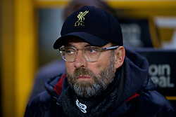 WOLVERHAMPTON, ENGLAND - Monday, January 7, 2019: Liverpool's manager Jürgen Klopp before the FA Cup 3rd Round match between Wolverhampton Wanderers FC and Liverpool FC at Molineux Stadium. (Pic by David Rawcliffe/Propaganda)