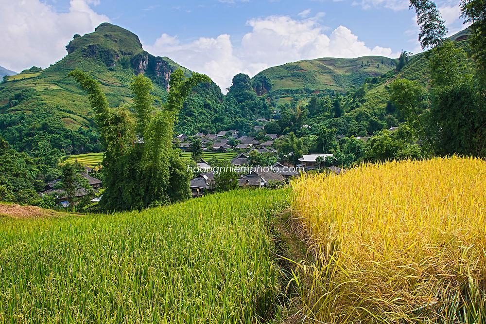 Vietnam Images-landscape-Village-Tú Lệ phong cảnh việt nam