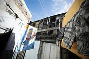 L'interno di un convettillo nel quartiere de La Boca a Buenos Aires, 4 marzo 2011.<br /> Foto Christian Mantuano / OneShot