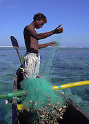 Fisherman in Anakao, Madagascar
