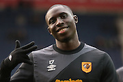Hull City Midfielder Mohammed Diame during the Sky Bet Championship match between Preston North End and Hull City at Deepdale, Preston, England on 28 December 2015. Photo by Pete Burns.