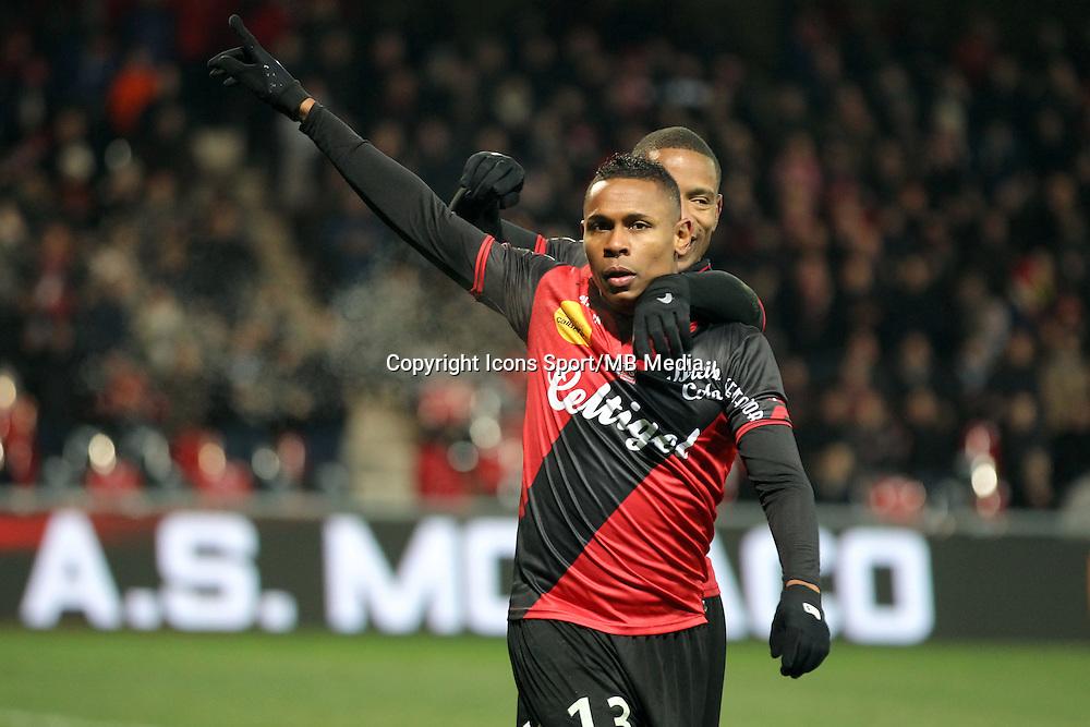 Christophe MANDANNE  - 24.01.2015 - Guingamp / Lorient - 22eme journee de Ligue1<br />Photo : Vincent Michel / Icon Sport