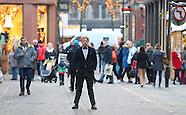Manchester - Rupert Grint Filming Snatch - 05 Dec 2016