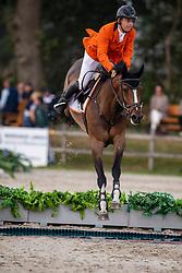 Veenstra Gerrit, NED, Loridon van T&L<br /> European Jumping Championship Children<br /> Zuidwolde 2019<br /> © Hippo Foto - Dirk Caremans<br /> Veenstra Gerrit, NED, Loridon van T&L
