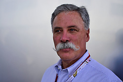 Formel 1: Grosser Preis der USA in Austin, Renntag / 231016<br /> <br /> ***Chase Carey (USA) Formula One Group Chairman.<br /> 23.10.2016. Formula 1 World Championship, Rd 18, United States Grand Prix, Austin, Texas, USA, Race Day.<br /> ***