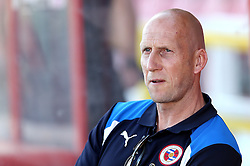 Reading Manager Jaap Stam looks stern on arrival at Swindon Town for the preseason friendly against Swindon Town ahead of the Sky Bet Championship season - Mandatory by-line: Robbie Stephenson/JMP - 19/07/2016 - FOOTBALL - County Ground - Swindon, England - Swindon Town v Reading - Pre-season friendly