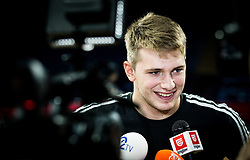 Luka Doncic of Slovenia at practice session of Team Slovenia 1 day before final match against Serbia at Day 17 of FIBA EuroBasket 2017 at Sinan Erdem Dome in Istanbul, Turkey on September 16, 2017. Photo by Vid Ponikvar / Sportida