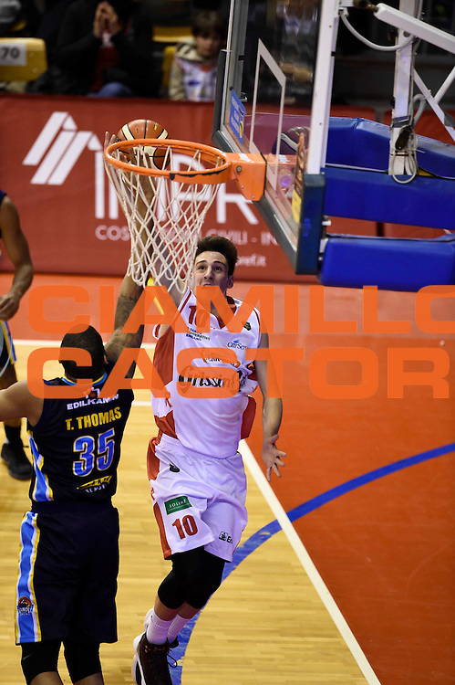 Federico Bonacini<br /> Grissin Bon Reggio Emilia - Vanoli Cremona<br /> Lega Basket Serie A 2016/2017<br /> Reggio Emilia, 08/01/2017<br /> Foto Ciamillo-Castoria