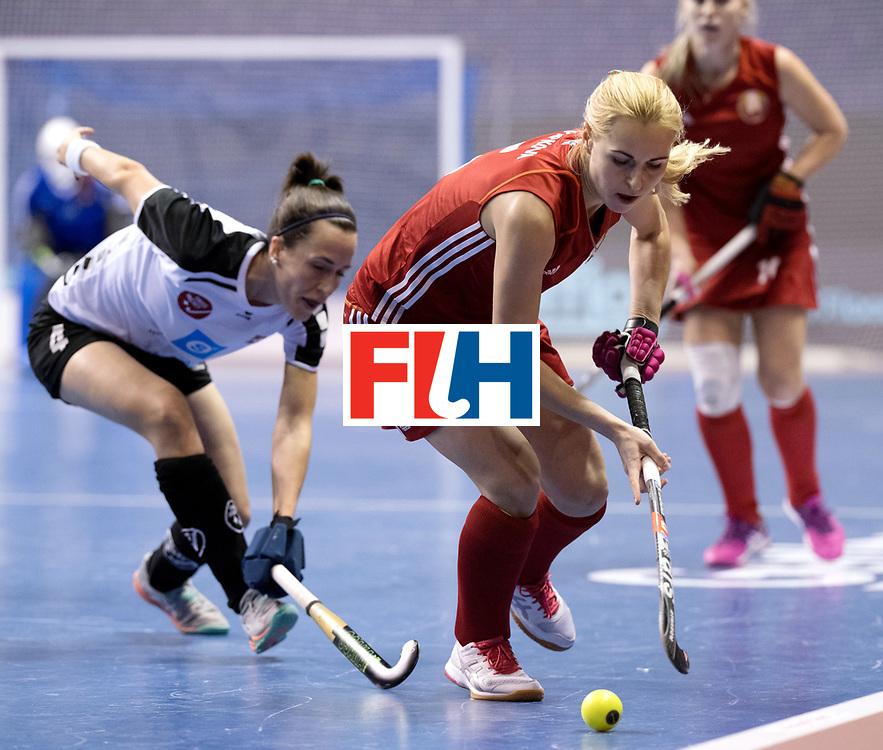 BERLIN - Indoor Hockey World Cup<br /> Women: Switzerland - Belarus<br /> foto: <br /> WORLDSPORTPICS COPYRIGHT FRANK UIJLENBROEK