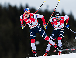 28.01.2018, Seefeld, AUT, FIS Weltcup Langlauf, Seefeld, FIS Weltcup Langlauf, 15 km Sprint, Herren, im Bild Simen Hegstad Krueger (NOR) // Simen Hegstad Krueger of Norway during men's 15 km sprint of the FIS cross country world cup in Seefeld, Austria on 2018/01/28. EXPA Pictures © 2018, PhotoCredit: EXPA/ Stefan Adelsberger