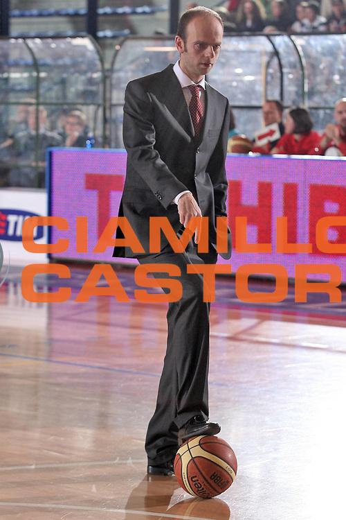 DESCRIZIONE : Biella Lega A1 2007-08 Angelico Biella Air Avellino<br /> GIOCATORE : Massimo Cancellieri<br /> SQUADRA : Angelico Biella<br /> EVENTO : Campionato Lega A1 2007-2008<br /> GARA : Angelico Biella Air Avellino<br /> DATA : 16/02/2008<br /> CATEGORIA : Ritratto<br /> SPORT : Pallacanestro<br /> AUTORE : Agenzia Ciamillo-Castoria/S.Ceretti