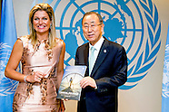Queen Maxima presents Inclusive Finance report to Secretary General
