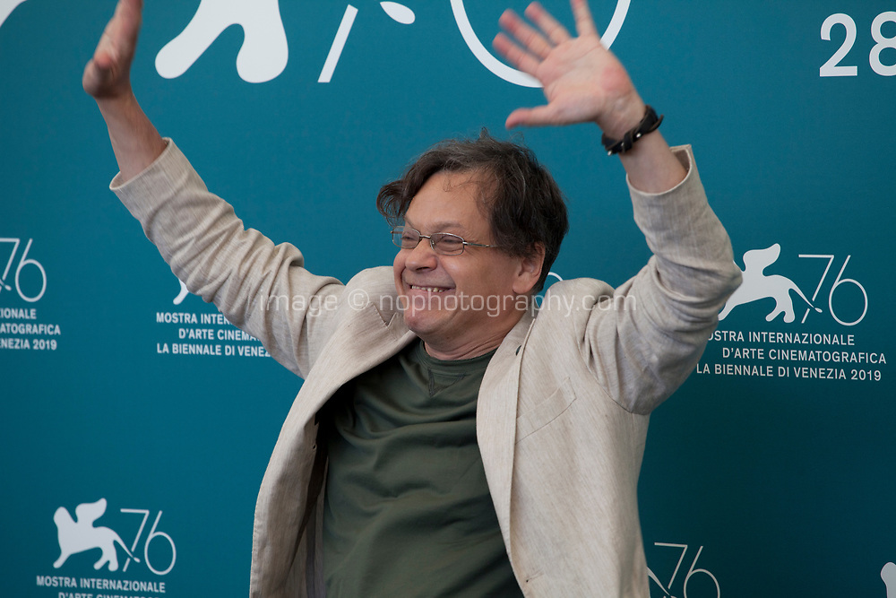 Venice, Italy, 30th August 2019, Roberto De Francesco at the photocall for the film The Mayor of Rione Sanita (Il Sindaco Del Rione Sanita) at the 76th Venice Film Festival, Sala Grande. Credit: Doreen Kennedy/Alamy Live News