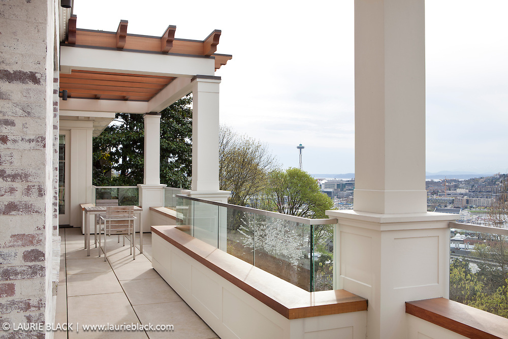 Porch view of Space Needle