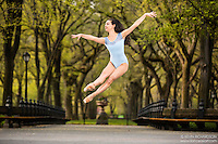 Dance As Art The New York City Photography Project Central Park Series with dancer Rachel Perla