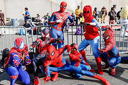 October 5, 2018 - New York, New York, U.S. - Public during Comic Con at the Jacob K. Javits Convention Center in New York. (Credit Image: © William Volcov/ZUMA Wire)