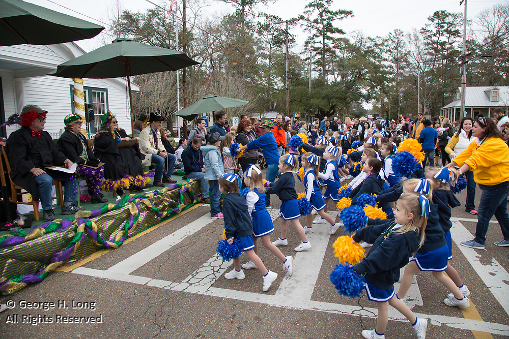 2018 Push Mow Parade in Abita Springs, Louisiana @2018, George H. Long