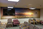 Innovare Medical Media banners on display at Good Samaritan Hospital in San Jose, California, photographed on September 22, 2015. (Stan Olszewski/SOSKIphoto)