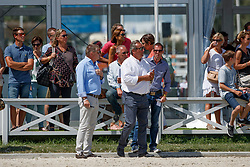 Conter Stefan, BEL, Vezzani Uliano, ITA<br /> Grand Prix CSI 3* - Knokke 2017<br /> © Hippo Foto - Dirk Caremans<br /> 09/07/2017