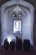 an old wine cellar with tuns