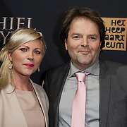 NLD/Amsterdam/20150126 - Premiere Michiel de Ruyter, Victor Löw en partner Marieke Kieft