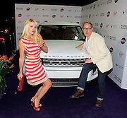 16.JUNE.2011. LONDON<br /> <br /> VIC REEVES AND NANCY SORRELL ATTENDING THE WTA PRE-WIMBLEDON PARTY IN ASSOCIATION WITH RANGE ROVER AT THE KENSINGTON ROOF GARDENS IN CENTRAL LONDON<br /> <br /> BYLINE: EDBIMAGEARCHIVE.COM<br /> <br /> *THIS IMAGE IS STRICTLY FOR UK NEWSPAPERS AND MAGAZINES ONLY*<br /> *FOR WORLD WIDE SALES AND WEB USE PLEASE CONTACT EDBIMAGEARCHIVE - 0208 954 5968*