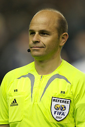 Liverpool, England - Wednesday, October 3, 2007: Referee Konrad Plautz  during the UEFA Champions League Group A match at Anfield. (Photo by David Rawcliffe/Propaganda)