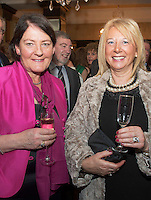 Repro free: At the Gorta Self Help Africa annual Ball at hotel Meyrick, Galway were Madge Gilligan Wellpark and Maria O Donnell, Moycullen. Photo:Andrew Downes