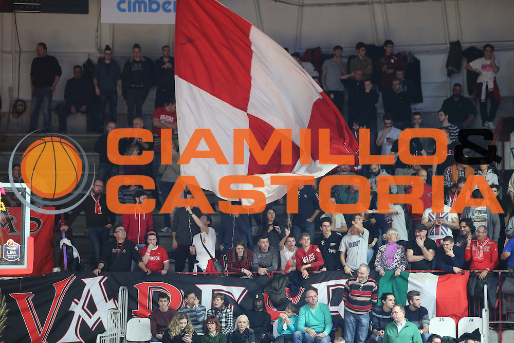 Ultras, Tifosi, Spettatori, Pubblico<br /> Openjobmetis Varese Grissin Bon Reggio Emilia<br /> BASKET SerieA 2016-2017<br /> Varese11 /12/2016 <br /> FOTO CIAMILLO