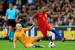 Aaron Mooy of Australia fouls Ryan Bertrand of England  - Mandatory by-line: Matt McNulty/JMP - 27/05/2016 - FOOTBALL - Stadium of Light - Sunderland, United Kingdom - England v Australia - International Friendly