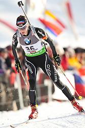 09.12.2011, Biathlonzentrum, Hochfilzen, AUT, E.ON IBU Weltcup, 2. Biathlon, Damen 7,5km Sprint, im Bild Selina Gasparin (SUI) // Selina Gasparin of Suisse during women 7.5km Sprint at E.ON IBU Worldcup 2th Biathlon, Hochfilzen, Austria on 2011/12/09. EXPA Pictures © 2011, PhotoCredit: EXPA/ Johann Groder