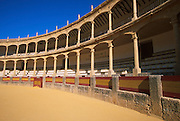 SPAIN, ANDALUSIA RONDA: beautiful 'pueblo blanco' and resort with one of Spain's earliest bullrings built in 1785