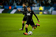 25.11.2015. Malm&ouml;, Sweden. <br /> &Aacute;ngel Di Mar&iacute;a of Paris in action during the UEFA Champions League match against Malm&ouml; FF.<br /> Photo: &copy; Ricardo Ramirez.