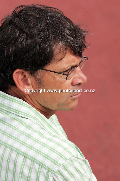 Black Ferns rugby coach Jed Rowlands attends the 2007 Union Athletics New Zealand Track &amp; Field Championships at TET Stadium, Inglewood, New Zealand on Friday 2 March 2007. Photo: Hannah Johnston/PHOTOSPORT<br /> <br /> <br /> <br /> 020307
