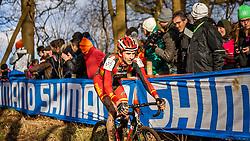 Aitor HERNANDEZ GUTIERREZ (55,ESP), 4th lap at Men UCI CX World Championships - Hoogerheide, The Netherlands - 2nd February 2014 - Photo by Pim Nijland / Peloton Photos