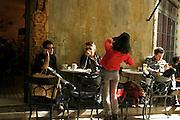 Istanbul Turkey coffee bar in the trendy Müeyyet Zade neighborhood