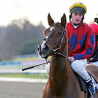 King's Colour and Adam Kirby winning the 12.30 race