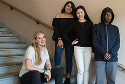 High school student(s) in College Access Now program, Seattle, Washington