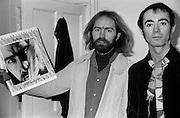 Roy Harper and BP Fallon celebrate the release of Bullinamingvase 1977