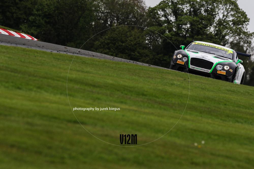 Team Parker Racing | Bentley Continental GT3 | Ian Loggie | Callum Macleod | British GT Championship | Oulton Park | 17 April 2017 | Photo: Jurek Biegus