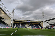 Preston North End's Deepdale before the Sky Bet Championship match between Preston North End and Middlesbrough at Deepdale, Preston, England on 9 August 2015. Photo by Simon Davies.