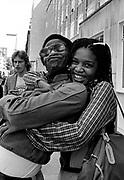 Al Green and girlfriend in London 1981