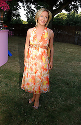 KIRSTY YOUNG at the Serpentine Gallery Summer party sponsored by Yves Saint Laurent held at the Serpentine Gallery, Kensington Gardens, London W2 on 11th July 2006.<br /><br />NON EXCLUSIVE - WORLD RIGHTS