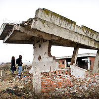"Komoran Village, Kosovo 19 February 2011<br /> Ruins of a house damaged during the Kosovo war 98-99.<br /> After the Kosovo War and the 1999 NATO bombing of Yugoslavia, the territory of Kosovo came under the interim administration of the United Nations Mission in Kosovo (UNMIK), and most of those roles were assumed by the European Union Rule of Law Mission in Kosovo (EULEX) in December 2008.<br /> In February 2008 individual members of the Assembly of Kosovo declared Kosovo's independence as the Republic of Kosovo. Its independence is recognised by 75 UN member states. On 8 October 2008, upon request of Serbia, the UN General Assembly adopted a resolution asking the International Court of Justice for an advisory opinion on the issue of Kosovo's declaration of independence. On 22 July 2010, the ICJ ruled that Kosovo's declaration of independence did not violate international law, which its president said contains no ""prohibitions on declarations of independence"".<br /> Photo: Ezequiel Scagnetti"