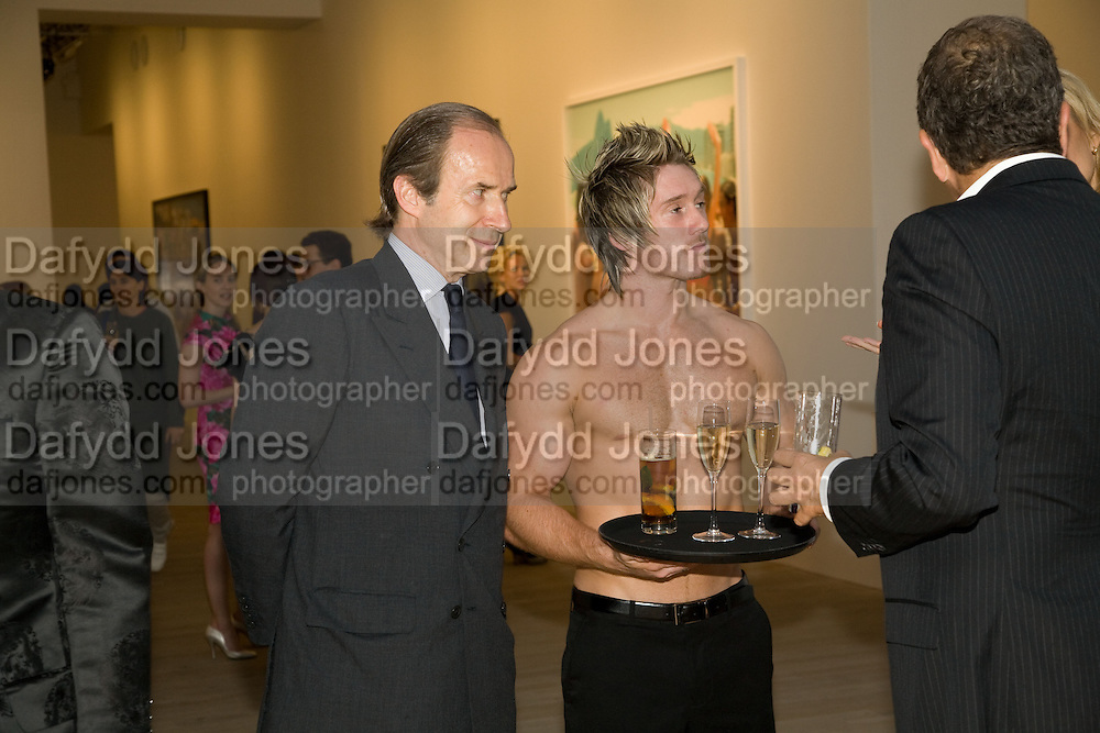 SIMON DE PURY, Mario Testino: Obsessed by You -  private view<br />Phillips de Pury & Company, Howick Place, London, SW1, 2 July 2008 *** Local Caption *** -DO NOT ARCHIVE-© Copyright Photograph by Dafydd Jones. 248 Clapham Rd. London SW9 0PZ. Tel 0207 820 0771. www.dafjones.com.