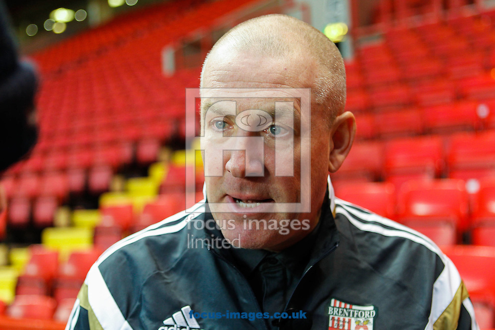 Brentford Manager Mark Warburton after the Sky Bet Championship match between Charlton Athletic and Brentford at The Valley, London<br /> Picture by Mark D Fuller/Focus Images Ltd +44 7774 216216<br /> 14/02/2015