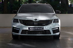 June 7, 2017 - Turin, Italy - Turin, Italy, 7th June 2017. A 2017 Skoda Octavia. Third edition of Parco Valentino car show hosts cars by many automobile manufacturers and car designers inside Valentino Park in Torino, Italy. (Credit Image: © Marco Destefanis/Pacific Press via ZUMA Wire)